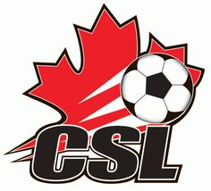 Canadian Soccer League Primary Logo on Chris Creamer's Sports Logos Page - SportsLogos. A virtual museum of sports logos, uniforms and historical items. Soccer Logo, Sports Logo, Football Soccer, Canada Soccer, Soccer League, Soccer World, Club, Logos, History