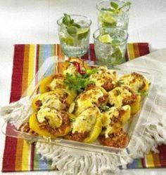 "Country-Kartoffeln ""mexikanisch"""