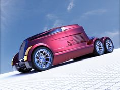 Never seen this #Semi #truck #concept before...