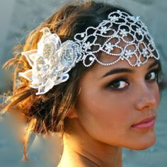 LOVE this stunning Dolores Petunia Headpiece!!!