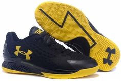 Under Armour Curry Championship Black Yellow Shoes Low