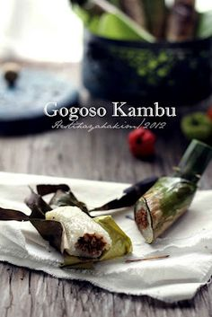 HESTI'S KITCHEN : yummy for your tummy...: Gogoso Kambu