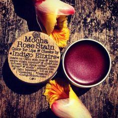 MOCHA ROSE STAIN Hawaiian Botanicals  Indigo Elixirs Handmade local