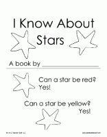 I Know About Stars Printable Book