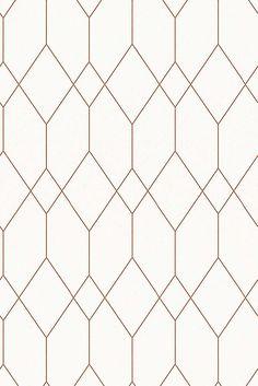 Esprit - Papier peint à motif graphique