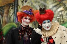 One of our favourite costumes from #Halloween past: Alice in Wonderland themed! http://www.cbc.ca/stevenandchris/2011/10/halloween-backstage-photos.html