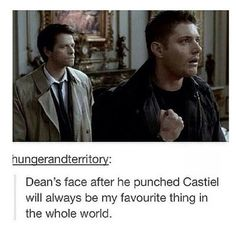 Why didn't it hurt when he punched Metatron though?