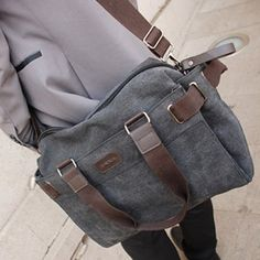 Cherchbi Tweed Messenger Bag. mens fashion style accessories ...