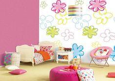 Ideen Für Wandgestaltung. Kinderzimmer FarbeFarbenSchminkideenKreative  MalereiMädchen ...