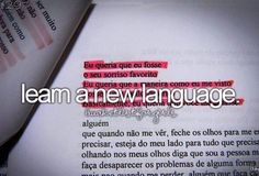 Learn a new language