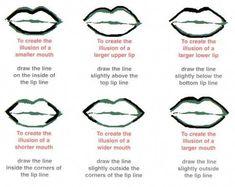 14 Lipstick Tricks For People Who Can't Make Sense Of Makeup #LipstickForFairSkin Makeup Trends, Makeup Tips, Beauty Makeup, Eye Makeup, Hair Makeup, Lip Tips, Makeup Products, Makeup Tutorials, Lip Liner Tips