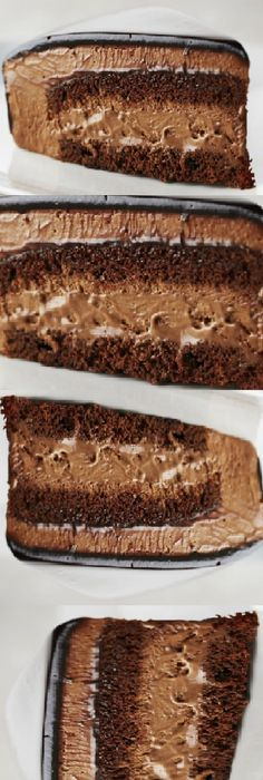 Torta mousse de chocolate de mi Madre, Si te gusta dinos HOLA y dale a Me Gusta MIREN… Food Decoration, Diy Food, Chocolate Cake, Bakery, Food And Drink, Dessert Recipes, Yummy Food, Favorite Recipes, Sweets