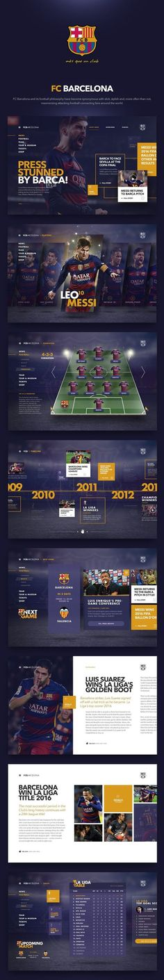 FC Barcelona design by Fred Nerby: