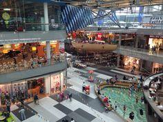 ATRIO - Shopping Center Villach in Villach, Kärnten Shopping Center, Four Square, Beautiful, Villach, Vacation, Shopping Mall
