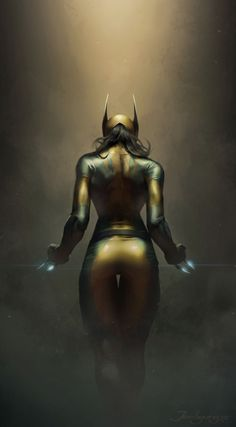 Female Wolverine by Lee JeeHyung |