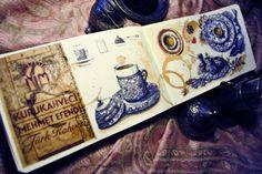 Loredana Micu - Turkish coffees painted with watercolour