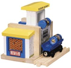 Thomas the Tank Engine & Friends Wooden Railway - Honey Depot by Learning Curve. $109.99. Thomas & Friends Wooden Honey Depot. Honey Depot
