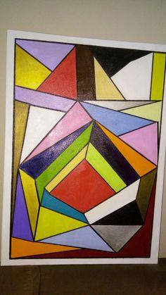 Tela geométrica 50/70
