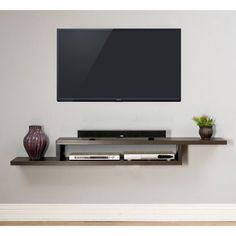Martin Furniture Ascend Wall Mounted TV Shelf