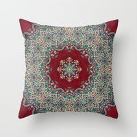 Throw Pillows featuring Nada Brahma   by Elias Zacarias