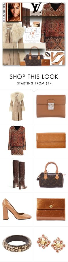 """LOUIS VUITTON: Accessorize with Name Brands"" by polyvore-suzyq ❤ liked on Polyvore featuring Miss Selfridge, Louis Vuitton, Aquazzura, Vince and Jennifer Lopez"