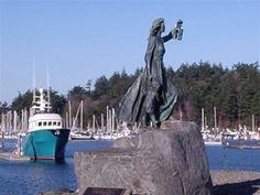 Seafarers Memorial at Cap Sante Marina. Living In Washington State, Western Washington, Anacortes Washington, Moses Lake, Whale Watching Tours, Evergreen State, San Juan Islands, Cascade Mountains, Day Trip