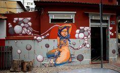 artista de la calle brasileño Thiago Alvim arte de la calle