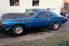 All American Racer: 1970 Plymouth Cuda AAR - http://barnfinds.com/all-american-racer-1970-plymouth-cuda-aar/