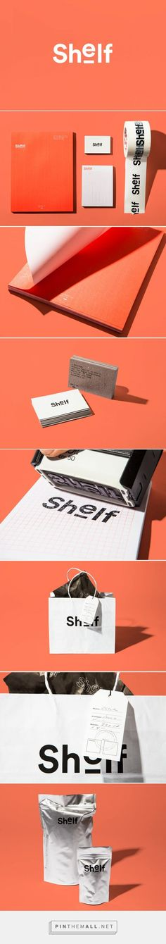 Shelf Branding by Sociedad Anonima | Fivestar Branding – Design and Branding Agency & Inspiration Gallery 봐도바돠너무예쁘다 언더바에하나의효과가..