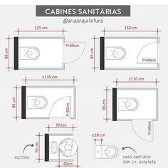 Wc Design, Toilet Design, Plan Design, Bathroom Layout Plans, Bathroom Design Layout, Dimension Wc, Wc Public, Architect Data, Toilet Plan