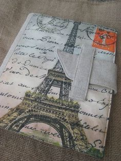 iPad cover with vintage French Paris