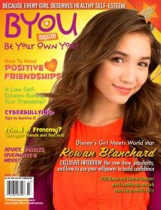 Disney Channel's GIRL MEETS WORLD star, Rowan Blanchard, on the cover of BYOU Magazine's Fall 2014 issue - on newsstands now! www.BYOUmagazine.com/order