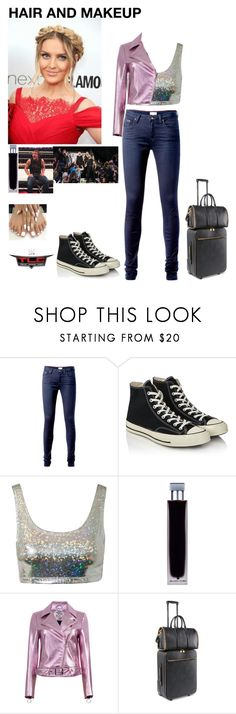 """""""Leah-Heading to TLC with her boys and ringside for them"""" by jerrielesy-wwe-lm ❤ liked on Polyvore featuring Tommy Hilfiger, Converse, Estradeur, WWE, Illuminum, Baum und Pferdgarten and STELLA McCARTNEY"""