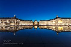 Mirror square Bordeaux. by PM_Photography_London #Architecture #fadighanemmd