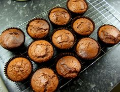 Chocolate and Stem Ginger Muffins