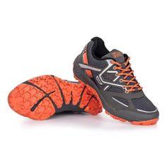 huge discount 07e51 6e887 The Tank รุ่น GP5 รองเท้ากีฬา รองเท้าวิ่งใหม่ล่าสุด น้ำหนักเบา กระชับเท้า  (สีเทา ส้ม )