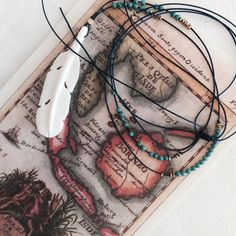 Feather Necklace Long Feather Necklace Buffalo by shoptreasurehunt