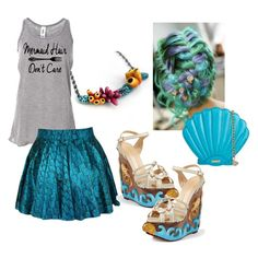 Six Mermaid and Sea Witch Costumes for Halloween - Casey Sharpe Jewelry