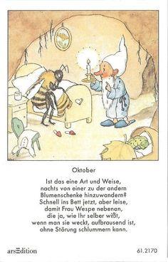 leißbildchen - Original Ida Bohatta - ars 61.2170 - Oktober