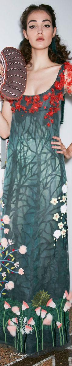 Fendi Couture Backstage Fall 2016