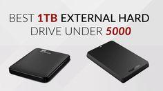 Best 1TB External Hard Drive Under 5000