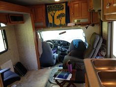 Drive to your destination, then step back into your home on wheels! I'm selling Tillie, my motorhome. Great deal, lots of features, including tons of storage! http://www.rvtrader.com/listing/2006-GULF-STREAM-Yellowstone-113012087