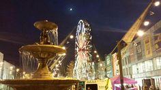 #GlowCork #Ferris Wheel.  Taken from tweet by @RoryCoomeyPhoto