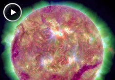 March 10, 2012: A monsterous tsunami of plasma on the sun.