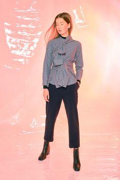 #Design #Alpha60 #Alpha60 Fashion Fashion Labels, Fashion Boutique, Capri Pants, Ruffle Blouse, Unique, Shirts, Tops, Design, Women