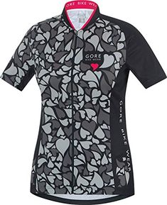 GORE BIKE WEAR ELEMENT LADY LOVE CAMO Jersey graphite greyblack size S      Find out more about the great product at the image link. 3c25d6098