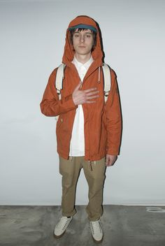 Penfield Gibson Jacket in Burnt Orange