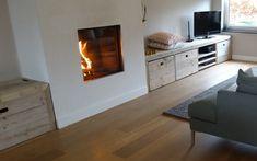 Bank aus Bauholz zum aufbewahren von PURE Wood Design auf DaWanda.com
