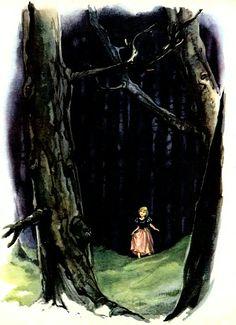 Сказочные Иллюстрации: Libico Maraja - Дикие Лебеди