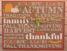 80 best holiday cards minis images on pinterest in 2018 thanksgiving card thanksgiving word card handmade thanksgiving card thanksgiving blessings card m4hsunfo